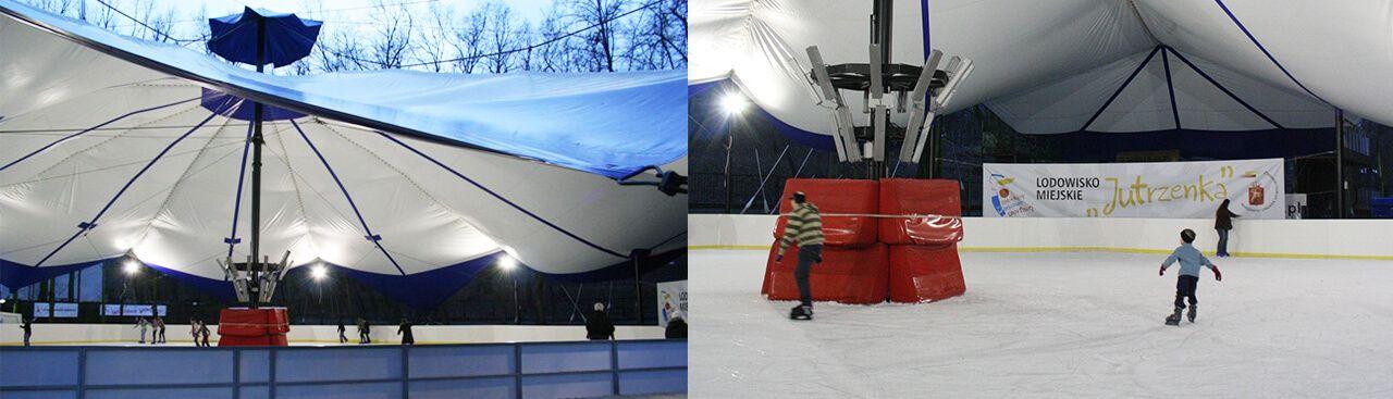 Sport Halls s.c. Salones para pistas de hielo