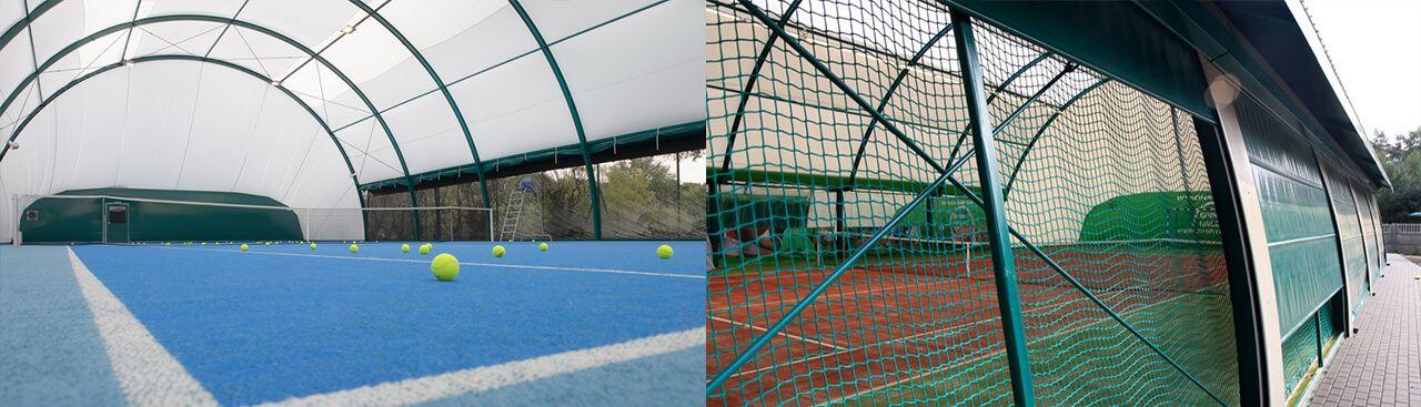 Sport Halls s.c. Salas de tenis arqueadas