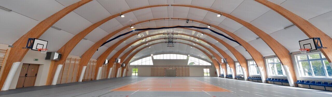 Sport Halls s.c. Pabellones deportivos escolares