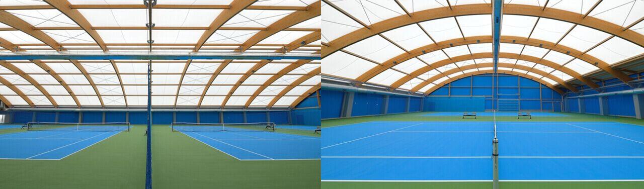 Sport Halls s.c. Superficies acrílicas