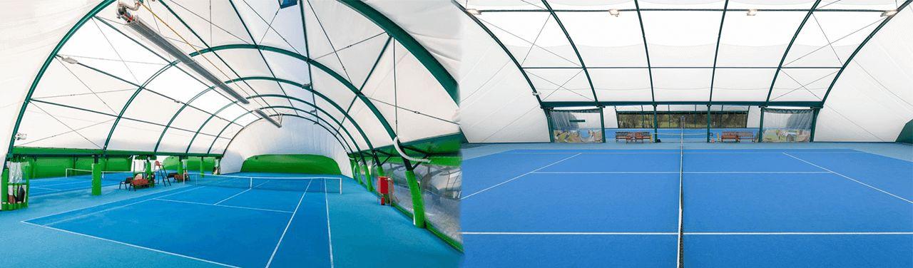 Sport Halls s.c. Superficies de moqueta