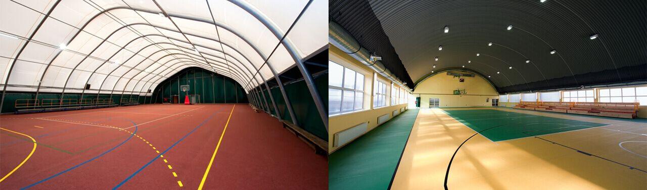 Sport Halls s.c. Superficies de poliuretano