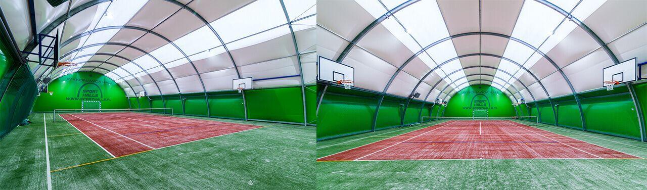 Sport Halls s.c. Superficies de hierba artificial