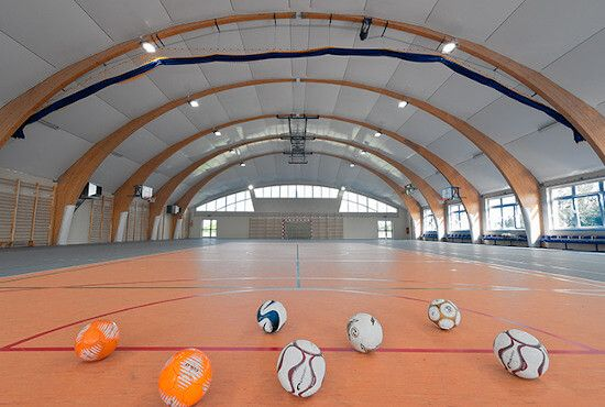 Sport Halls - Ejecución compleja de instalaciones deportivas