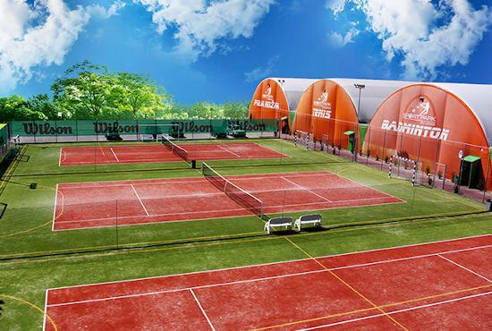 Ejecución compleja de instalaciones deportivas - Sport Halls