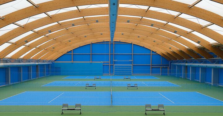 Pasillos de tenis de Wimbledon