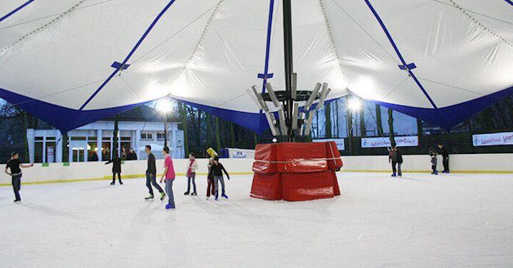 Salones para pistas de hielo