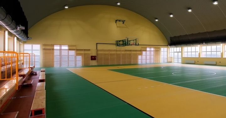 Pabellones deportivos escolares