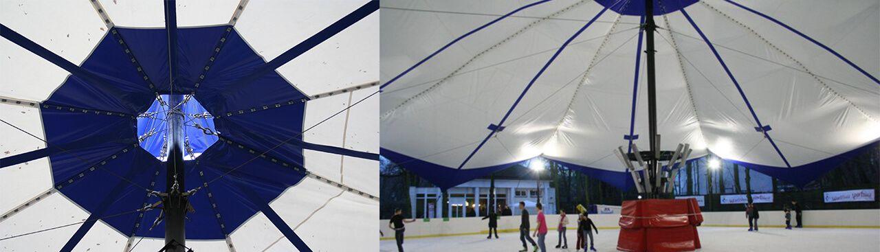 Sport Halls s.c. Salas y cubiertas de membrana